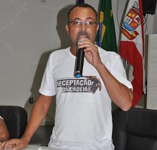 """Vereador Jorge da Farinha destaca importância da audiência pública que lançou campanha """"Receptação dá Cadeia"""", em Alagoinhas"""