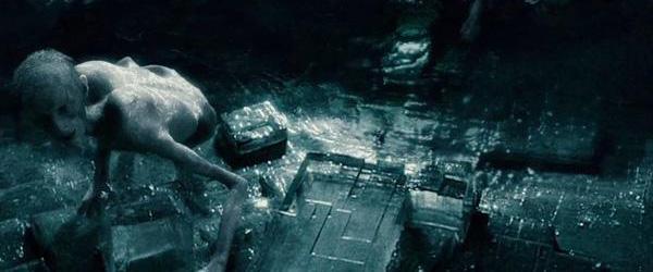 Инферии в пещерата на Волдемор в Хари Потър и нечистокръвния принц