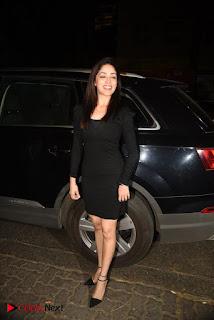 Yami Gautam Stills in Black Short Dress at Hrithik Roshan 43rd birthday Party  0004.jpg