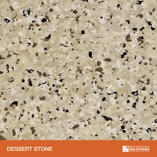 Resurfacing Solutions Knoxville Faux Granite Countertop Color Sample 25