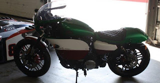 old italy sportster racing 1200 roadster by hd treviso side left