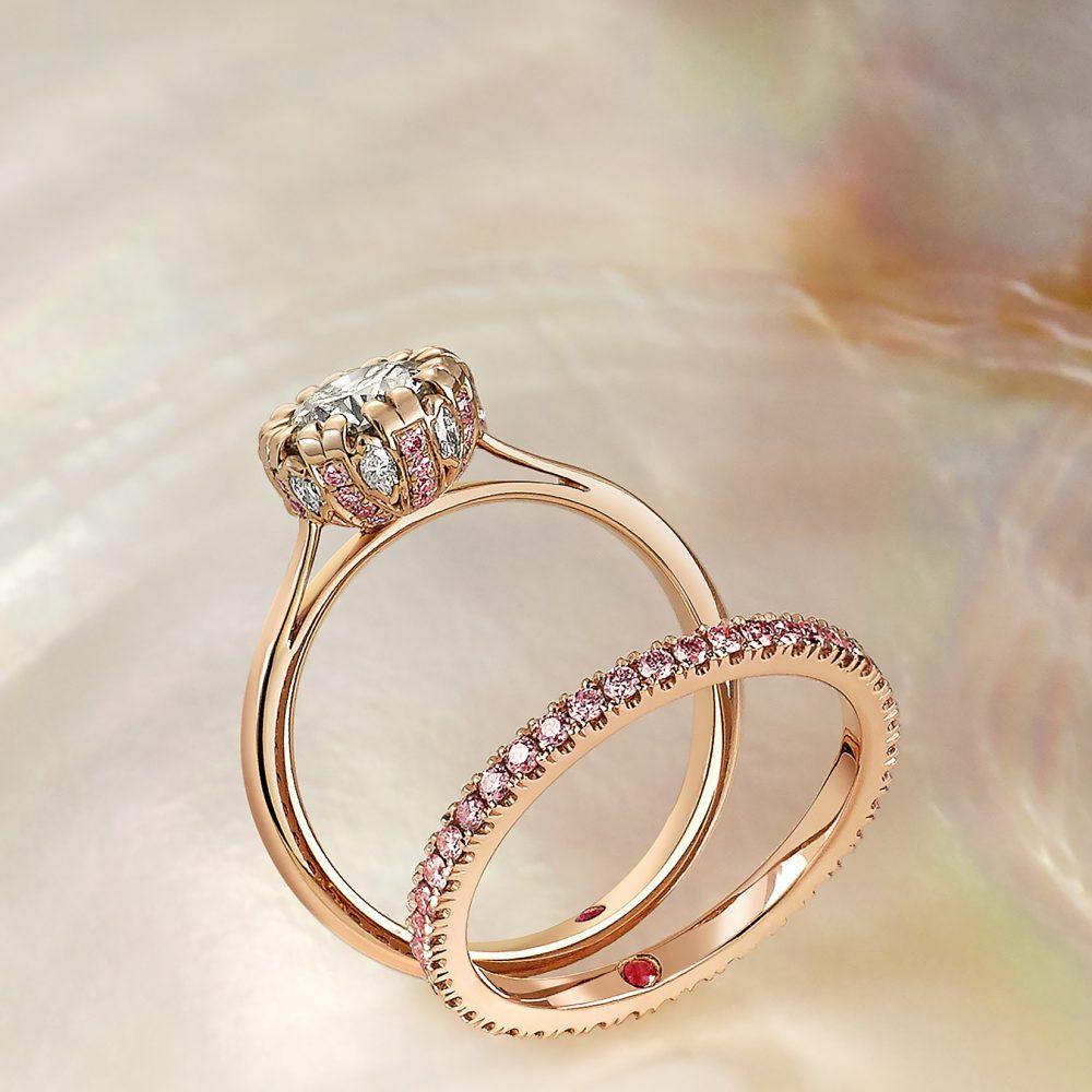 anillos de boda en oro 15 fabulosos modelos de moda somos novias. Black Bedroom Furniture Sets. Home Design Ideas