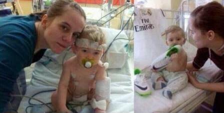 Cristiano Ronaldo Membiayai Pengobatan Bayi 10 Bulan