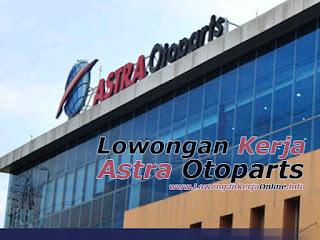 Lowongan Operator Astra Otoparts Terbaru