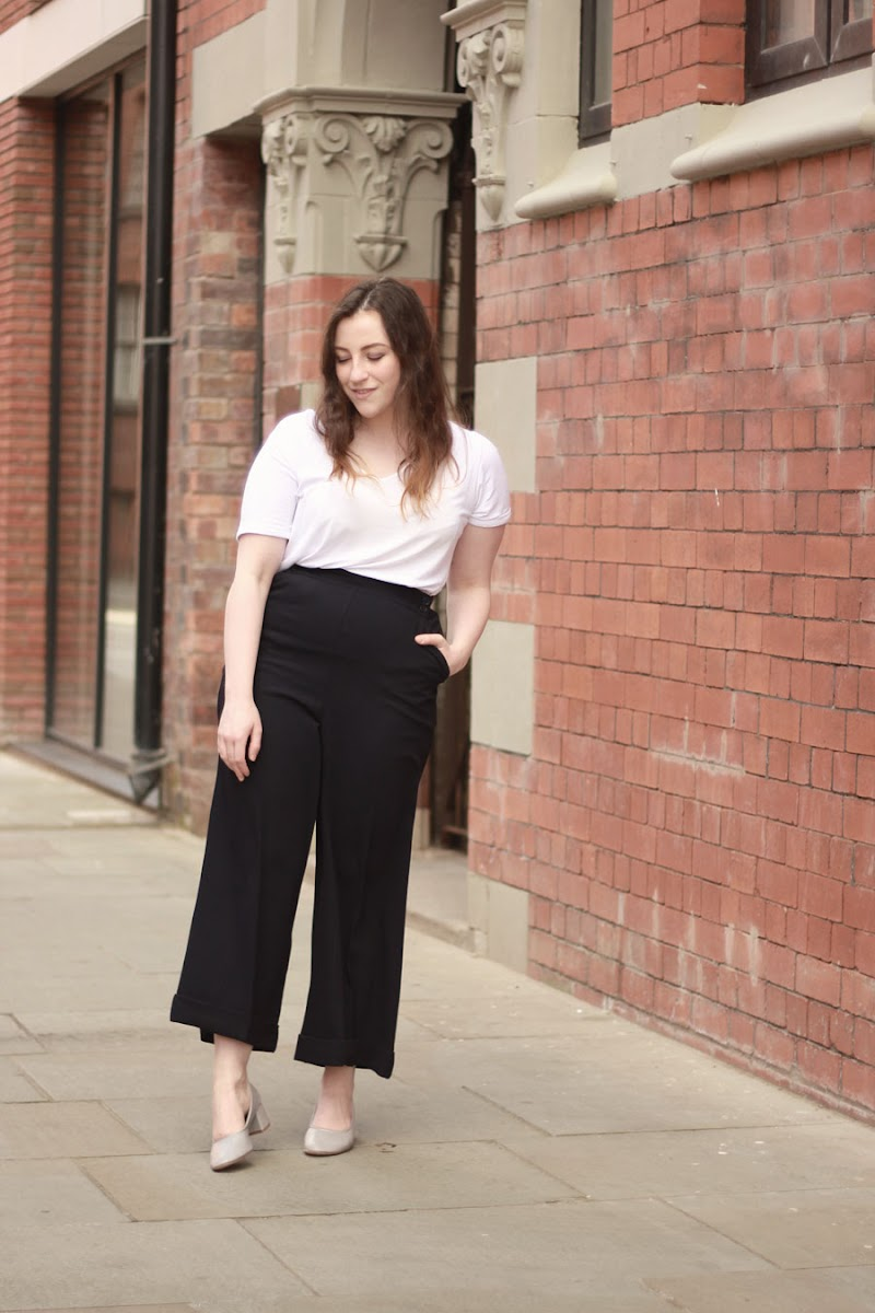 How to style culottes in the daytime | www.itscohen.co.uk