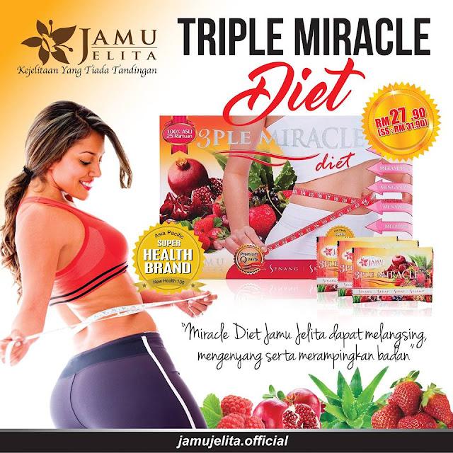 3ple Miracle Diet Jamu Jelita