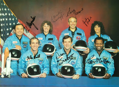 Σαν σήμερα … 1986, το διαστημικό λεωφορείο Challenger «εκρήγνυται» λίγο μετά την εκτόξευσή του.