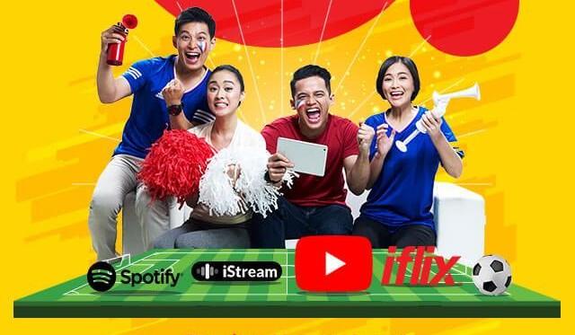 Daftar Terbaru Harga Paket Data Live Streaming Piala Dunia 2018, Pengguna Indosat Ooredoo
