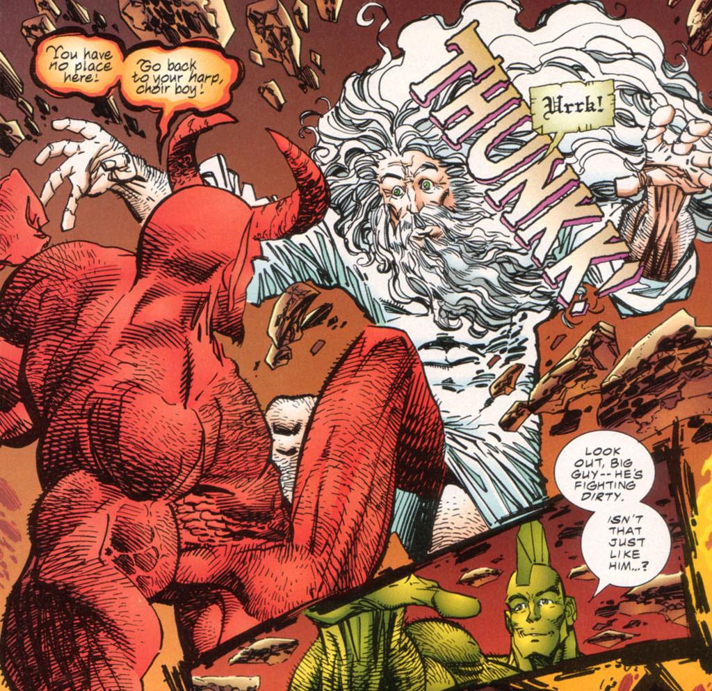 Lucifer Devil: Satan In The Comics.