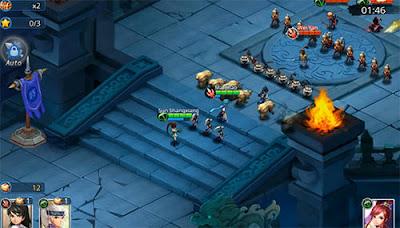 Warlords battle: Heroes