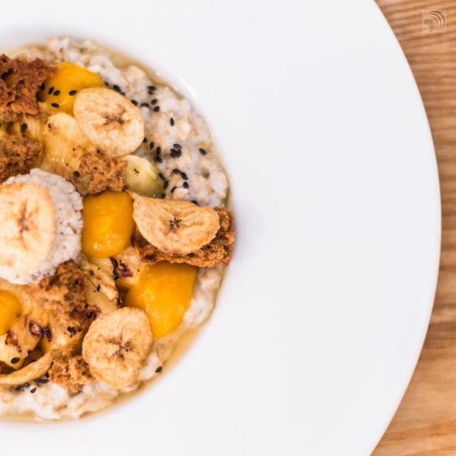 Warm Pineapple Banana Couscous Breakfast Recipe