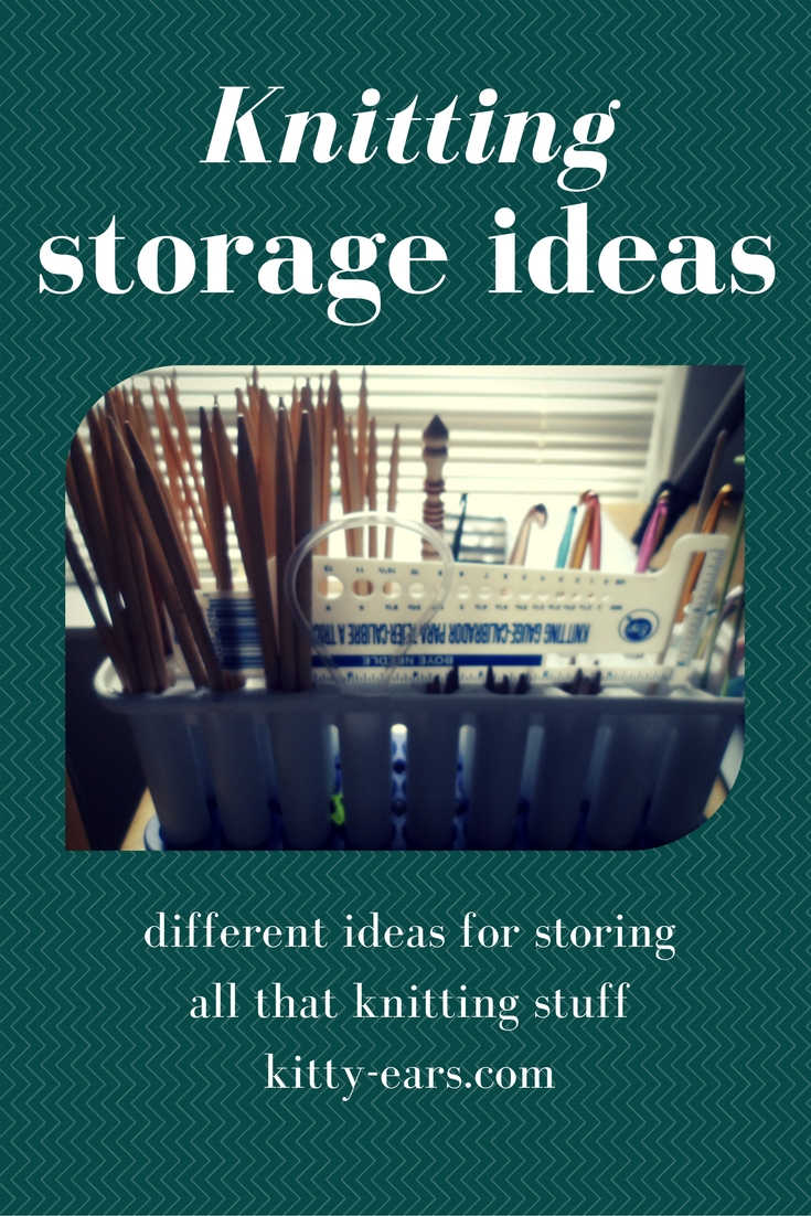 Knitting Storage Ideas. I Have A Lot Of Knitting Stuff. I Mean, Iu0027ve Been  Knitting For Years. And I Donu0027t Really Get Rid Of Anything Fiber  Related  Who ...