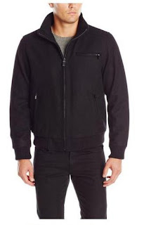 Calvin Klein Men's Wool Bomber