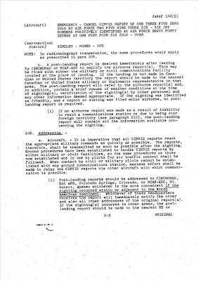 JANAP 146 (D) (CIRVIS REPORTS 201) (-cont)