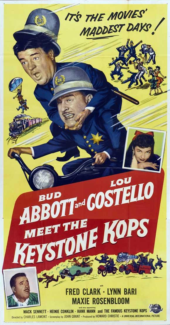 abbott and costello meet the keystone kops 1955
