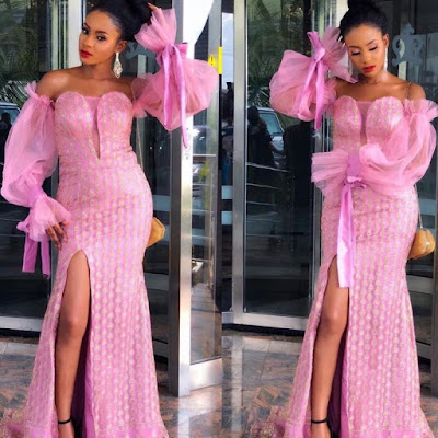 Beautiful Lace Gown Styles For African American Women