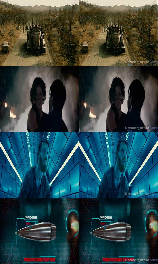 Resident Evil Capítulo Final (2016) 3D SBS Español Latino