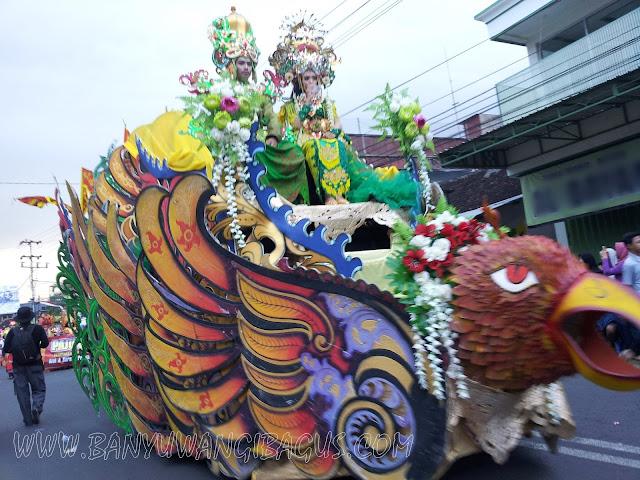 Karnaval 17 Agustus 2016 Kecamatan Genteng, Banyuwangi.