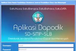 Download Aplikasi Dapodik versi 4.00 Instaler