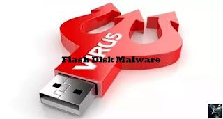 Cara atasi antivirus Flashdisk Malware