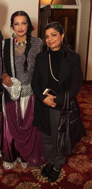 Artist Anjanna Kuthiala with Columnist Shubhra Gupta