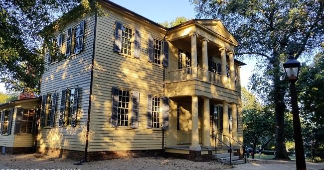 The Ghost Of Mordecai House Raleigh Nc Strange