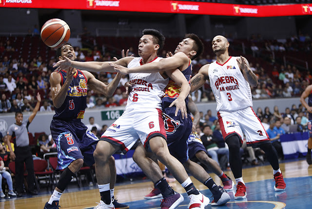 LIST: Ginebra vs Rain or Shine last 10 Head-to-head matchups