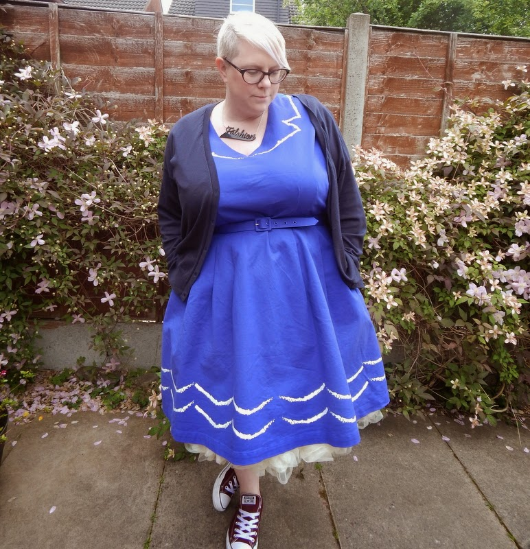 Modcloth Oslo Dress size 3x Lady V London Petticoat