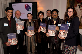 Third UK-India Education Week held in London on theme of 'teaching and technology' with launch of key publication