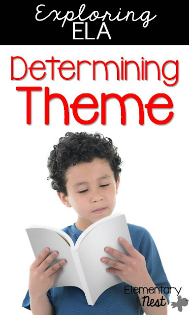 Theme, Teaching Theme in your ELA block; hands-on activities and reading activities to help students determine theme (RL.4.2, RL4.2)