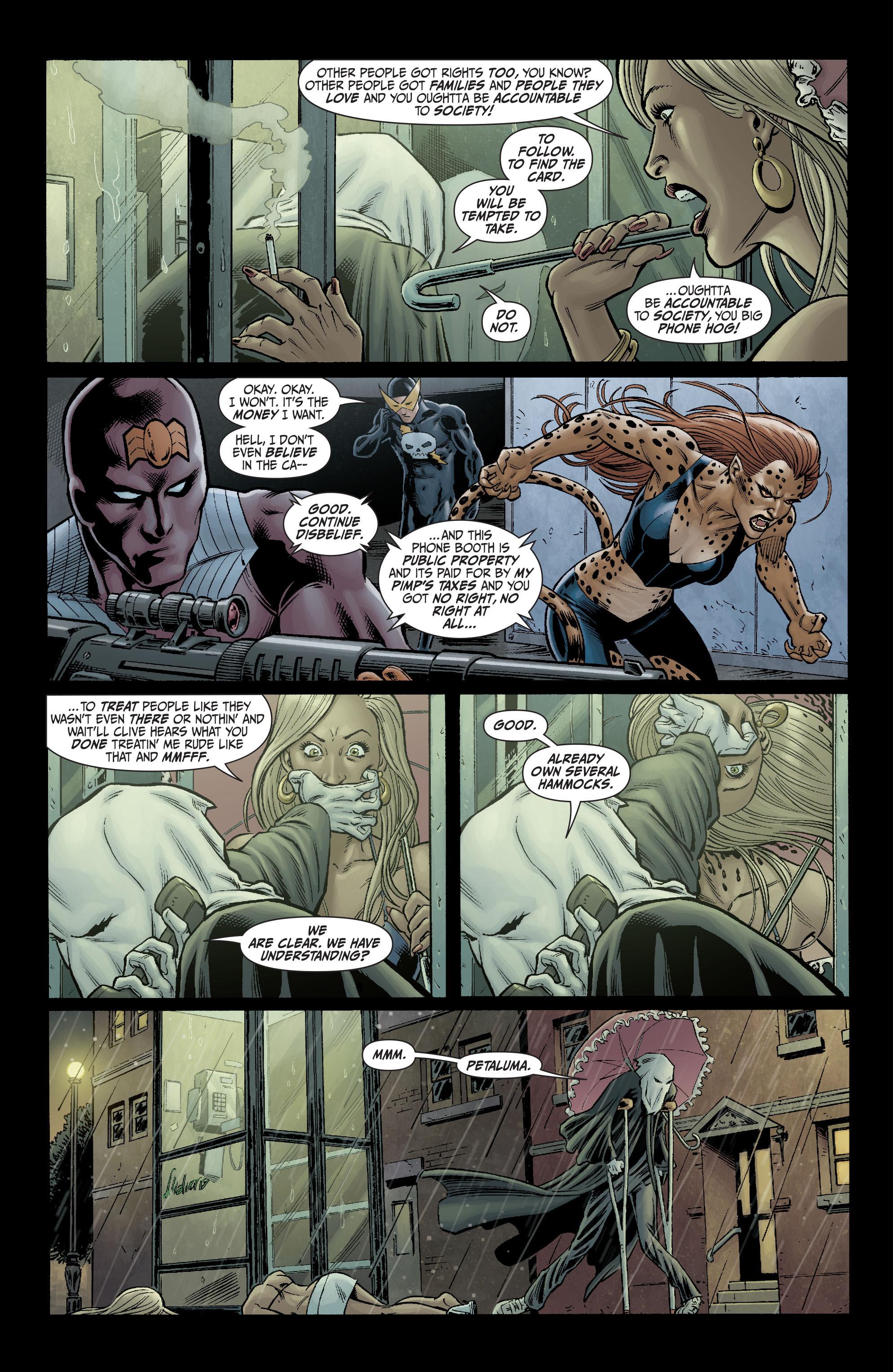 Read online Secret Six (2008) comic -  Issue #3 - 7