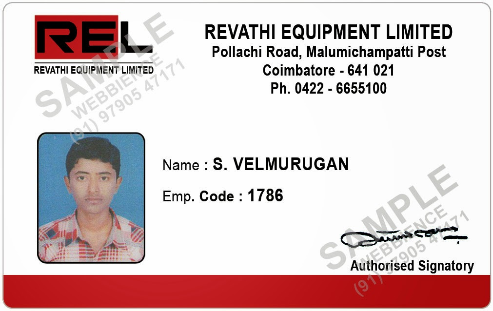 Webbience employee id card templates 20131231 for Staff id badge template