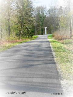 Forêt de Chaux : Colonne-guidon 1