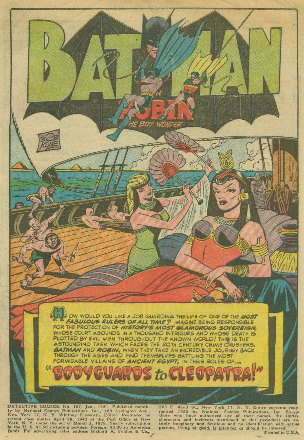 Read online Detective Comics (1937) comic -  Issue #167 - 3