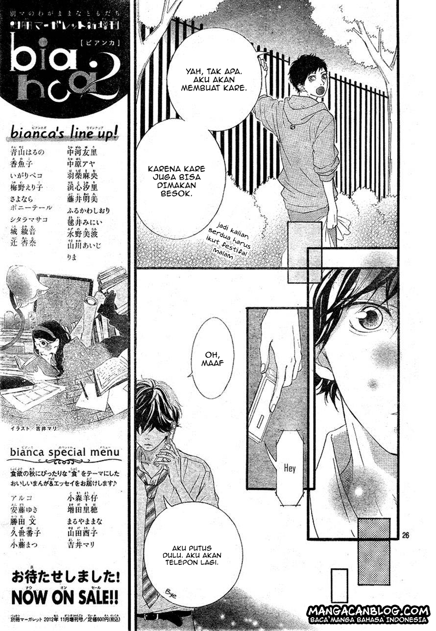 Ao Haru Ride Chapter 22-26
