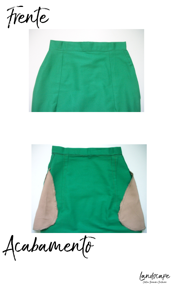 molde base de saia