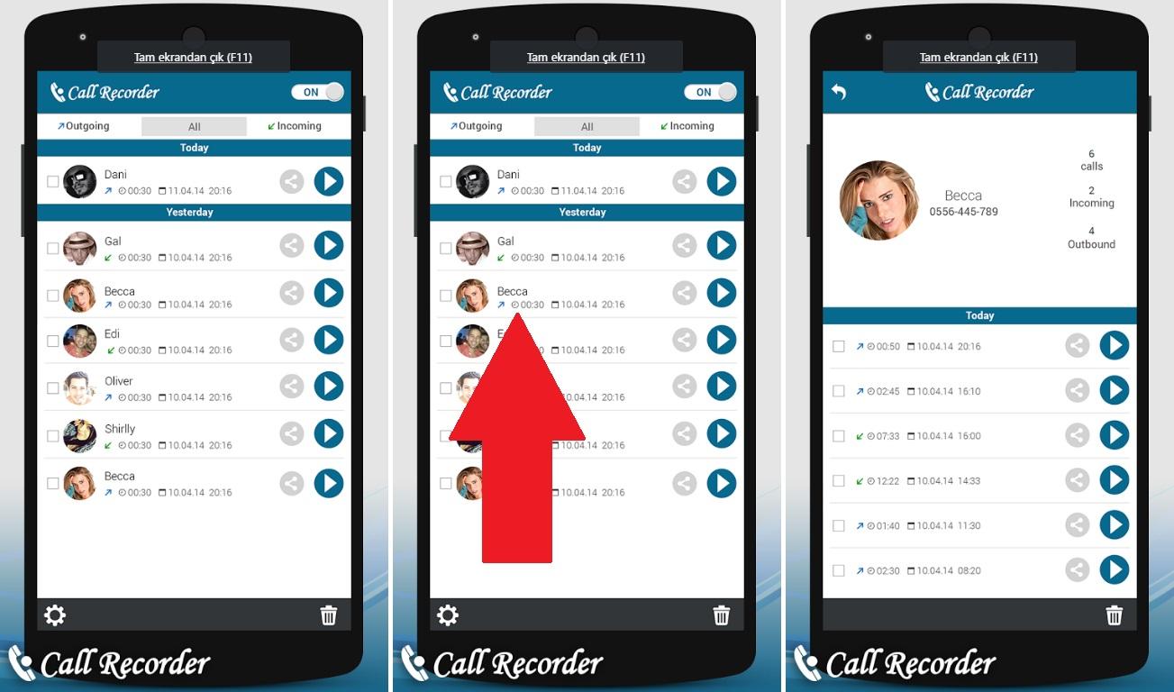 Telefonla Konuşurken Ses Kaydetmenin Farklı Yolları