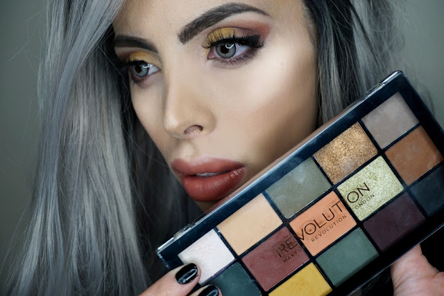 Makeup Look created with the Reloaded Iconic Division by Makeup Revolution palette