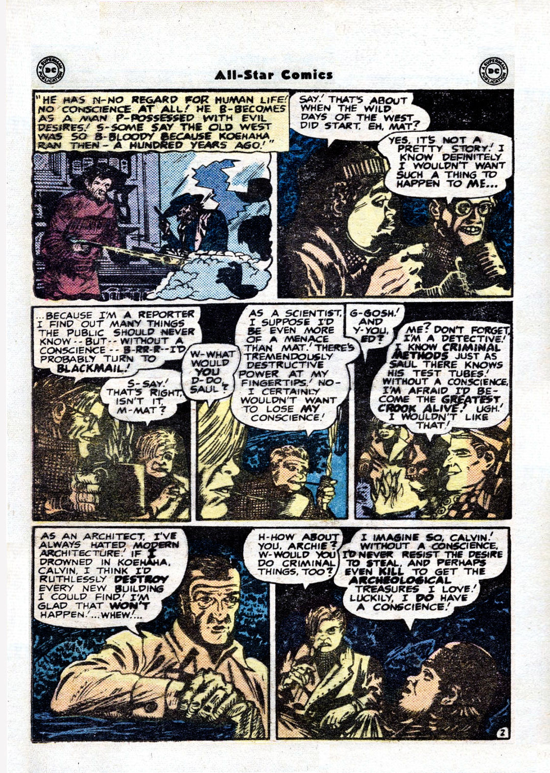 Read online All-Star Comics comic -  Issue #36 - 4