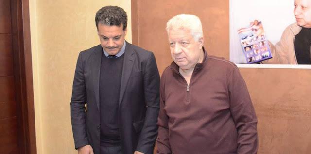 إيهاب جلال يستعد لتقديم قائمة المغادرين إلى مرتضى منصور