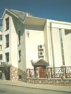 Clădirea bisericii penticostale nr. 1 din Brasov - fotografia este făcută de mine