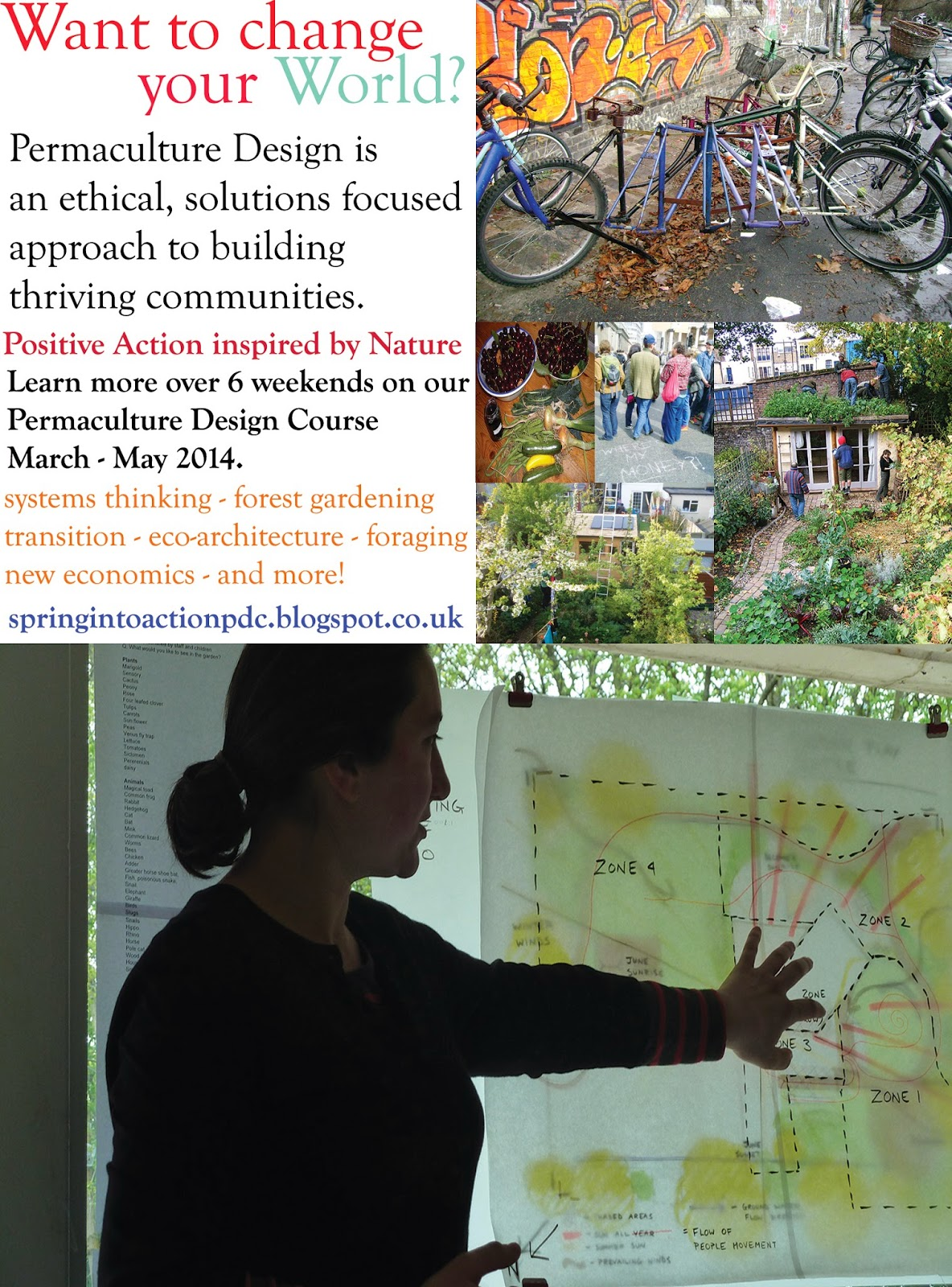 Permaculture Design Course London Spring 2015
