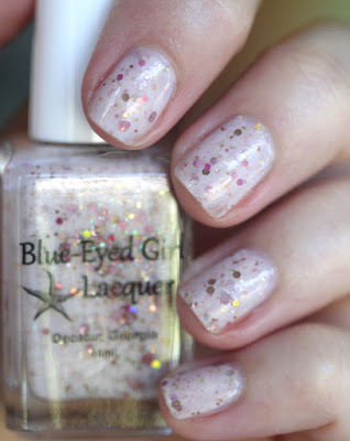 Blue-Eyed Girl Lacquer Siren Sells Seashells Down by the Shore