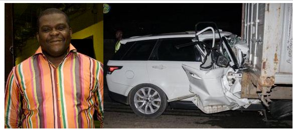Photos: Chairman of Koga Entertainment, Chris Jeyibo, dies in car crash