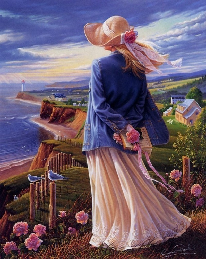 Lindas pinturas de Pintura de Rosanne Pomerleau