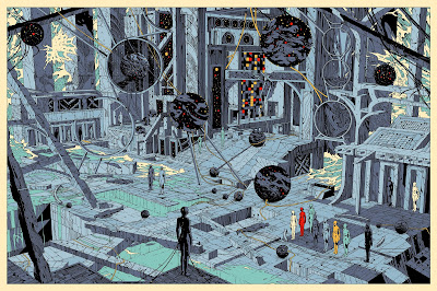 The Last Wave II Regular Edition Art Print by Kilian Eng x Grey Matter Art