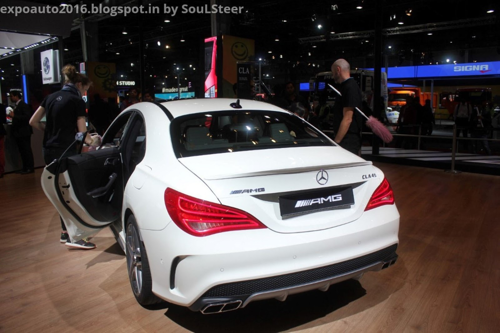 D And A Auto >> Auto Expo 2016 By Soulsteer Mercedes Benz Cla 45 Amg 4matic C