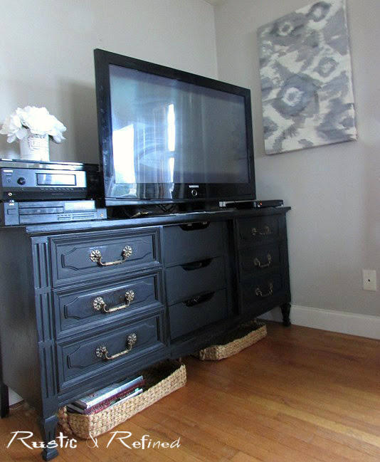 TV media console ideas