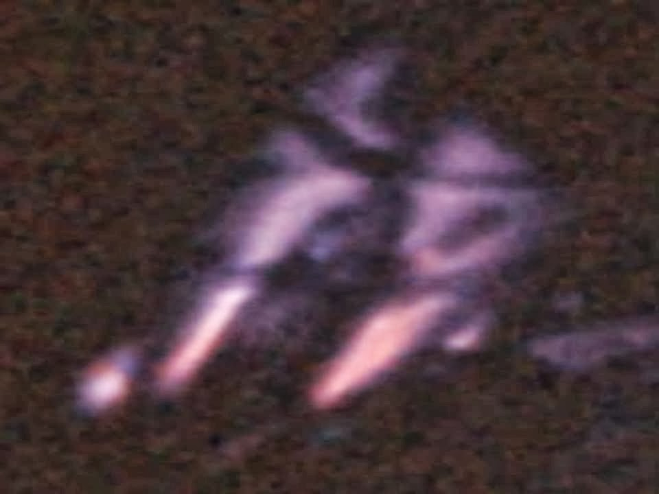 NASA photo shows a very Interesting UFO over Bolivia - Oct ...