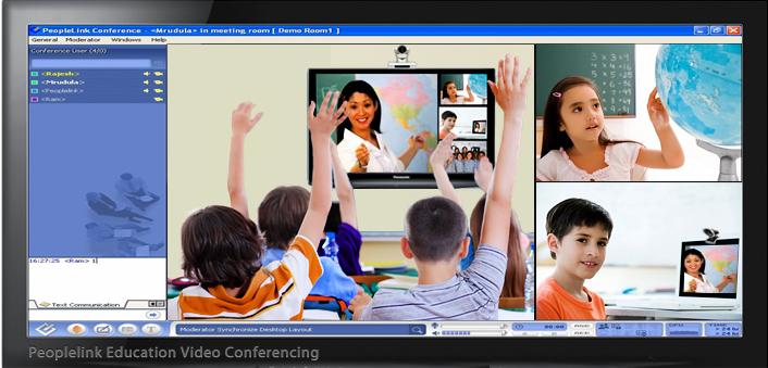 Hội nghị truyền hình trong giáo dục